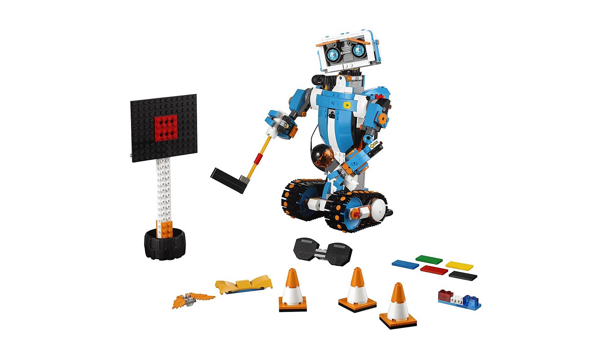 14b36f449 Boost teaches inquisitive young minds how to code for the very first time.  7- to 12-year-olds can build five different multifunctional models; ...