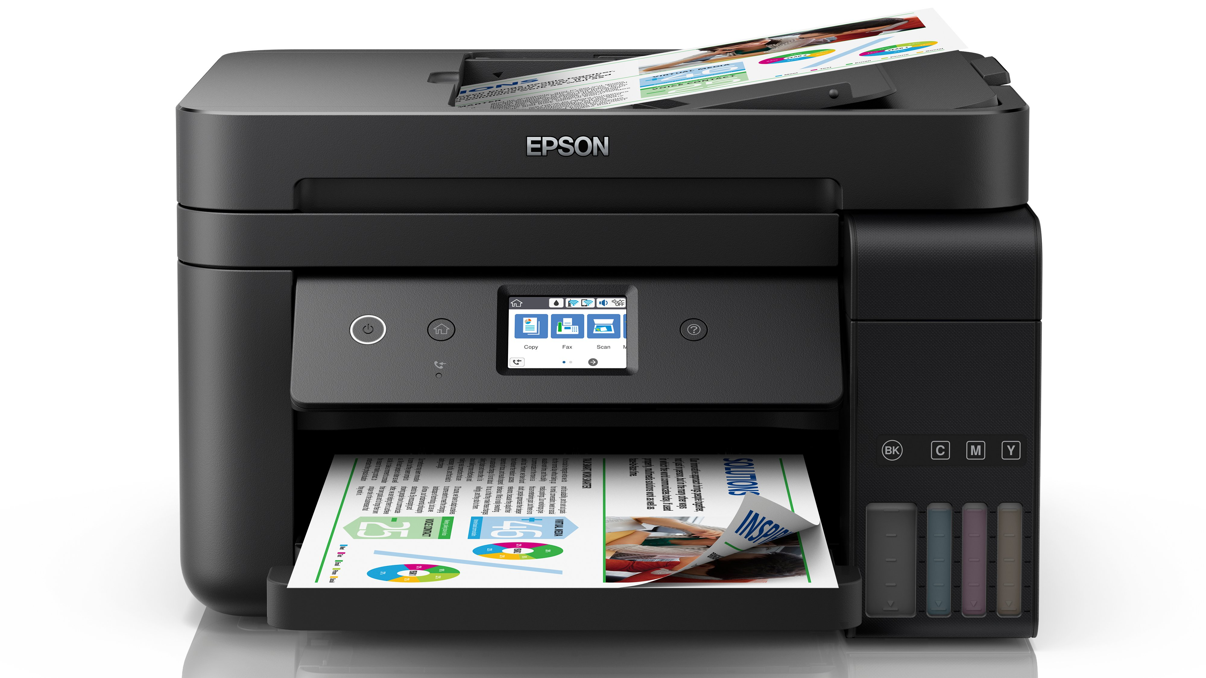 Epson EcoTank ET-4750 review: A well-equipped, decent EcoTank MFP