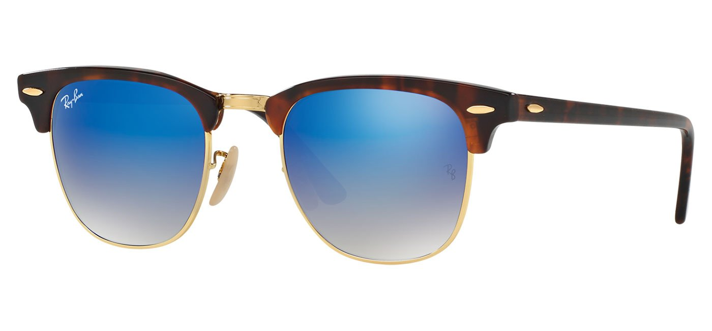 61ac8a4a608 The Sonnenbrille Clubmaster range is ideal if you want to blend Ray-Ban s  iconic style with some unique colour splashes of your own choosing.