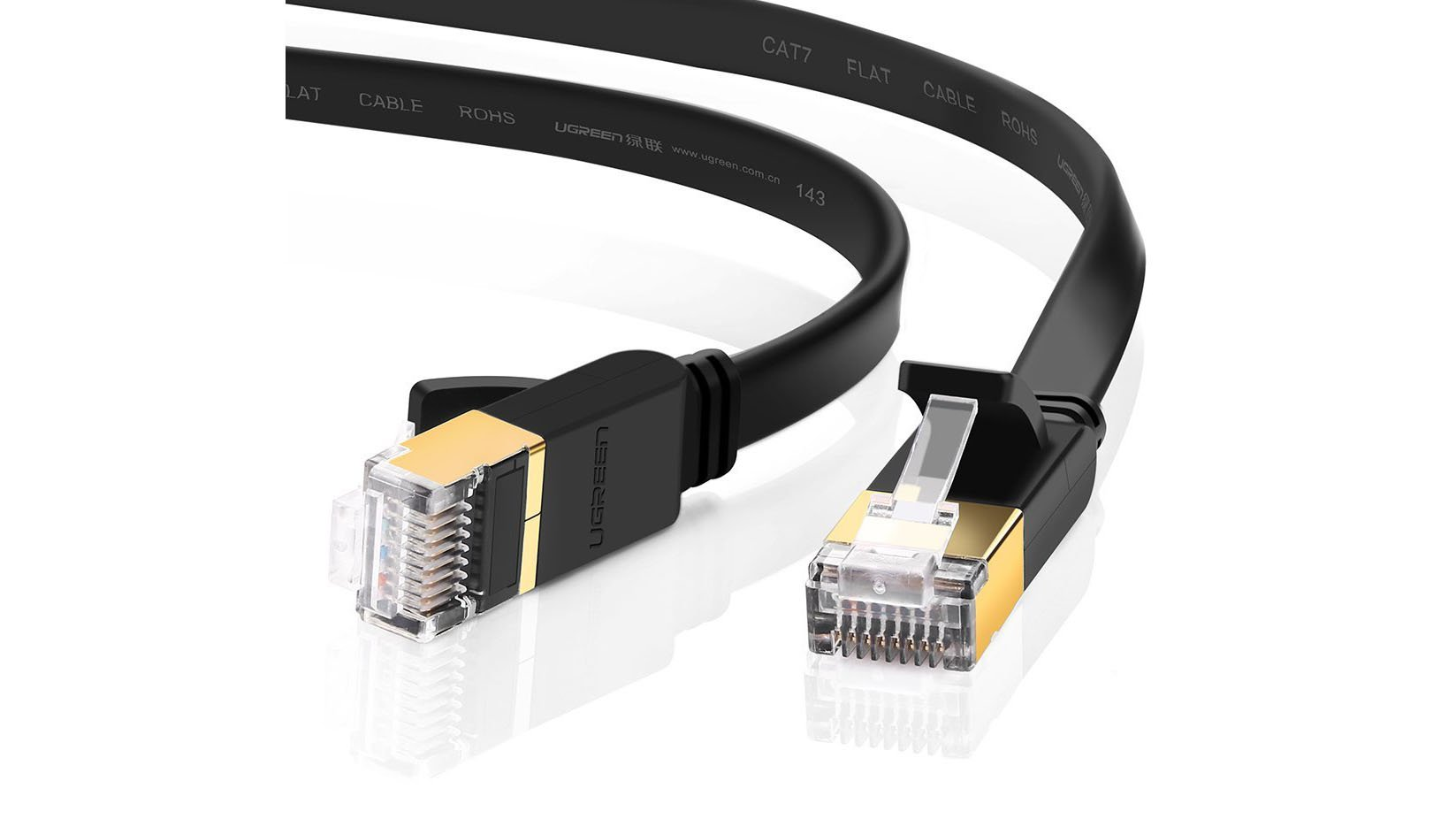 Best Ethernet Cable Fast Tangle Free Networking From Just 3 As Well Cat 6 Crossover Diagram On Cat6 Rj45 Connector Wiring Like The Vandesail This Flat Cat7 Comes In A Range Of Lengths Time Going All Way Up To 20m It Has Copper Shielded Twisted Pair