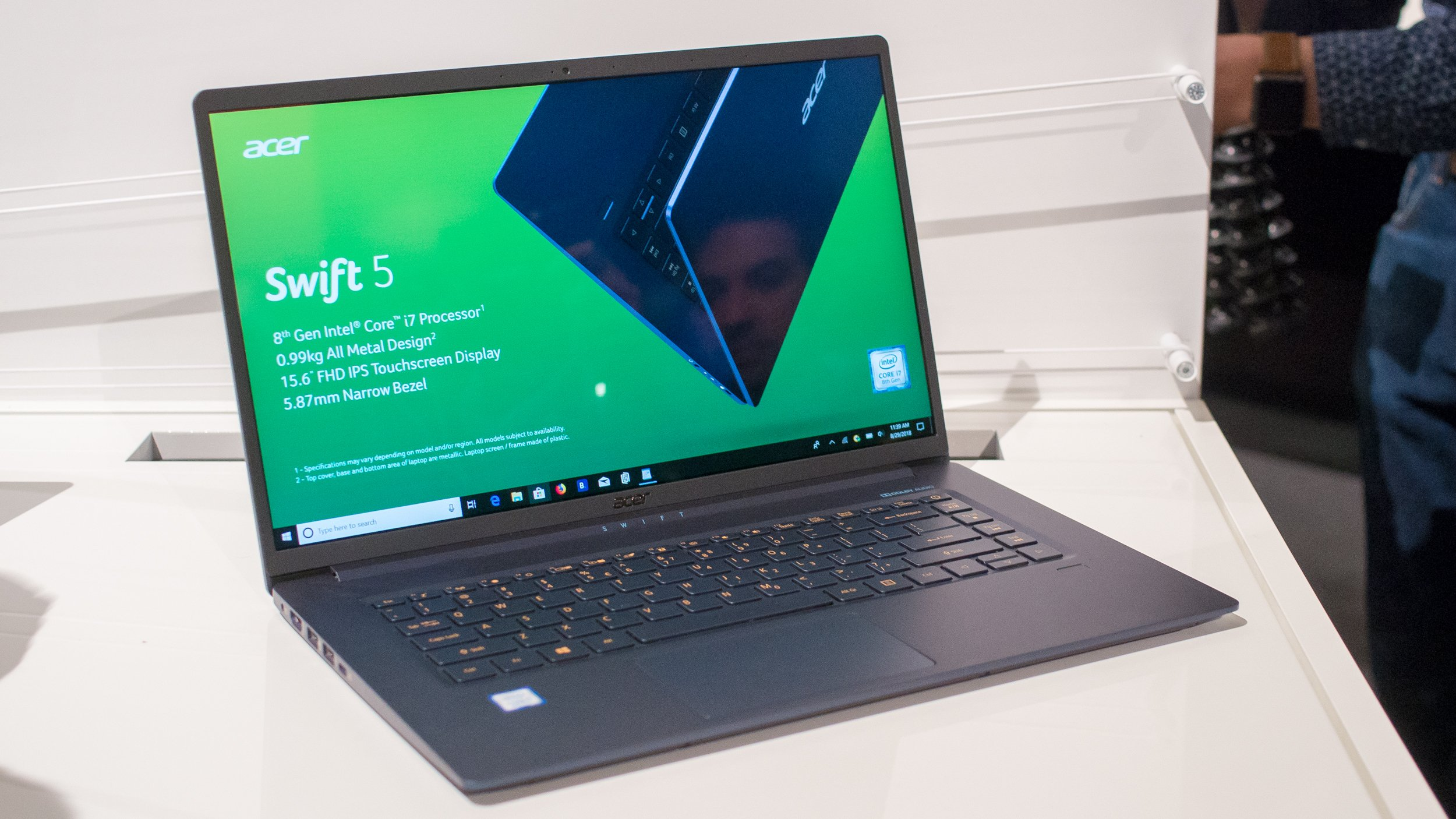 Acer Swift 5 15in 2018 The Ultra Light Laptop That