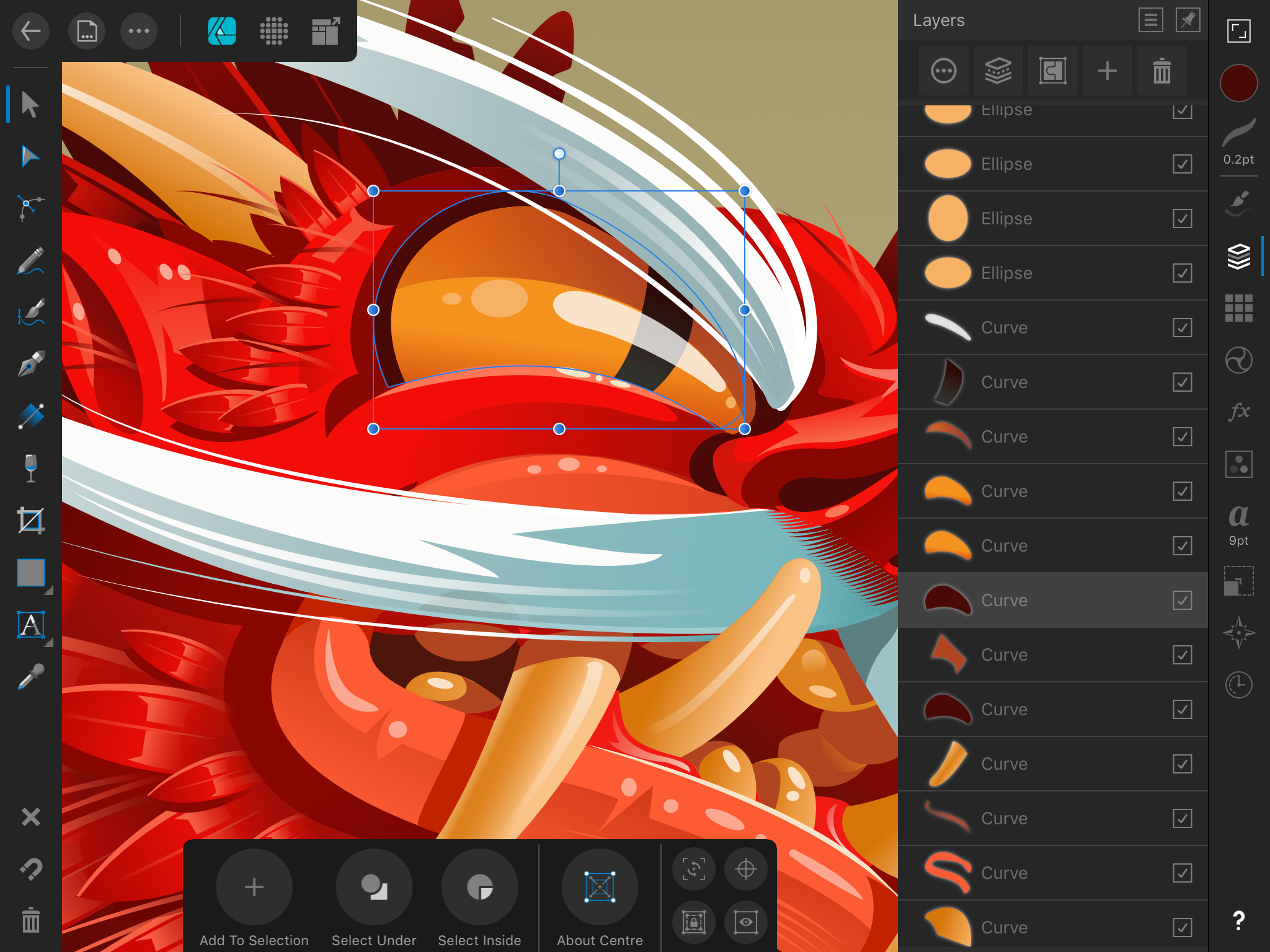 Affinity Designer for iPad review: Nearly all the power of Illustrator in an iPad app