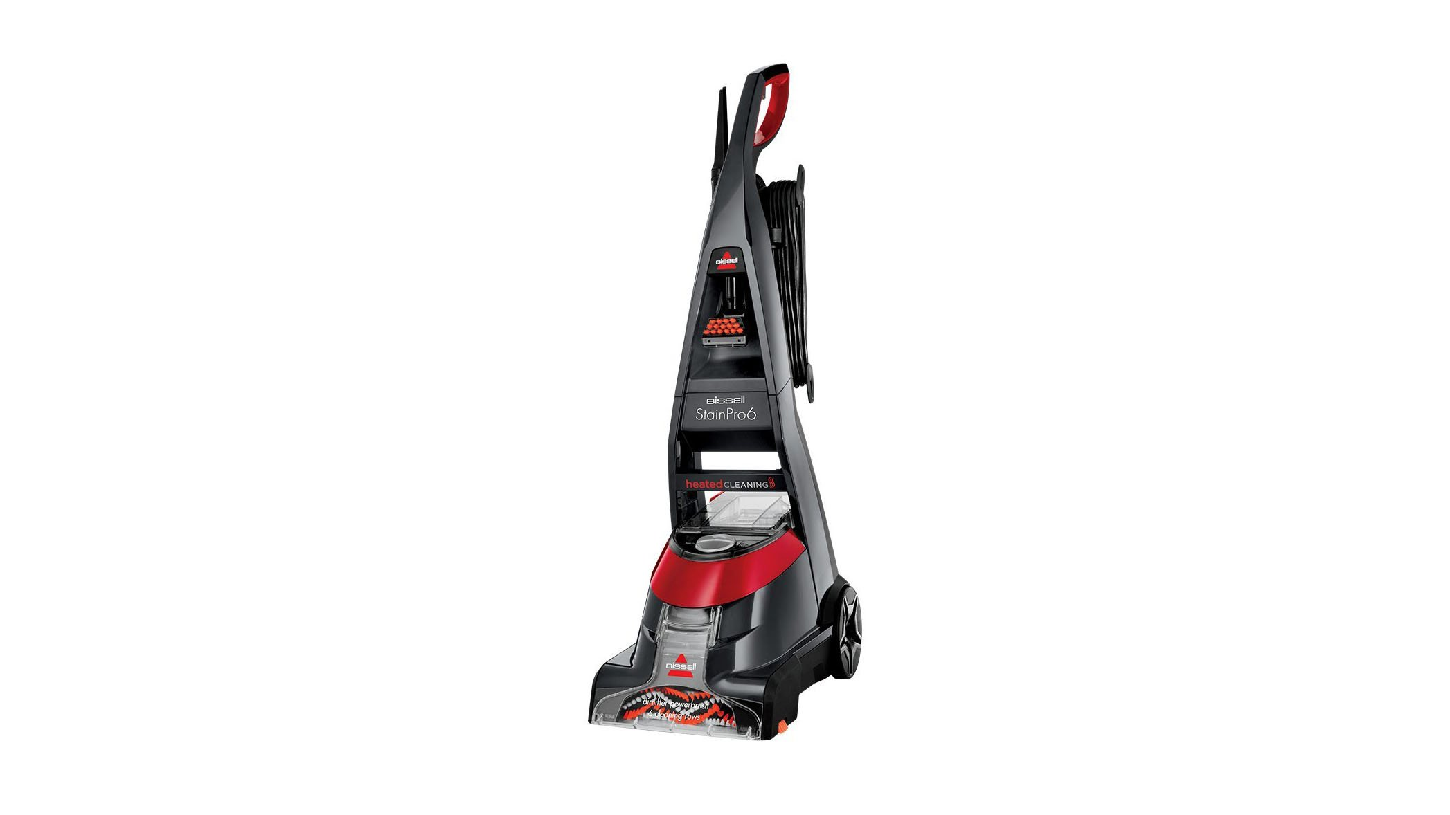 The StainPro 6 is ideally suited to households with two or three carpeted rooms. Despite its cumbersome dimensions, it's an excellent performer and pretty ...