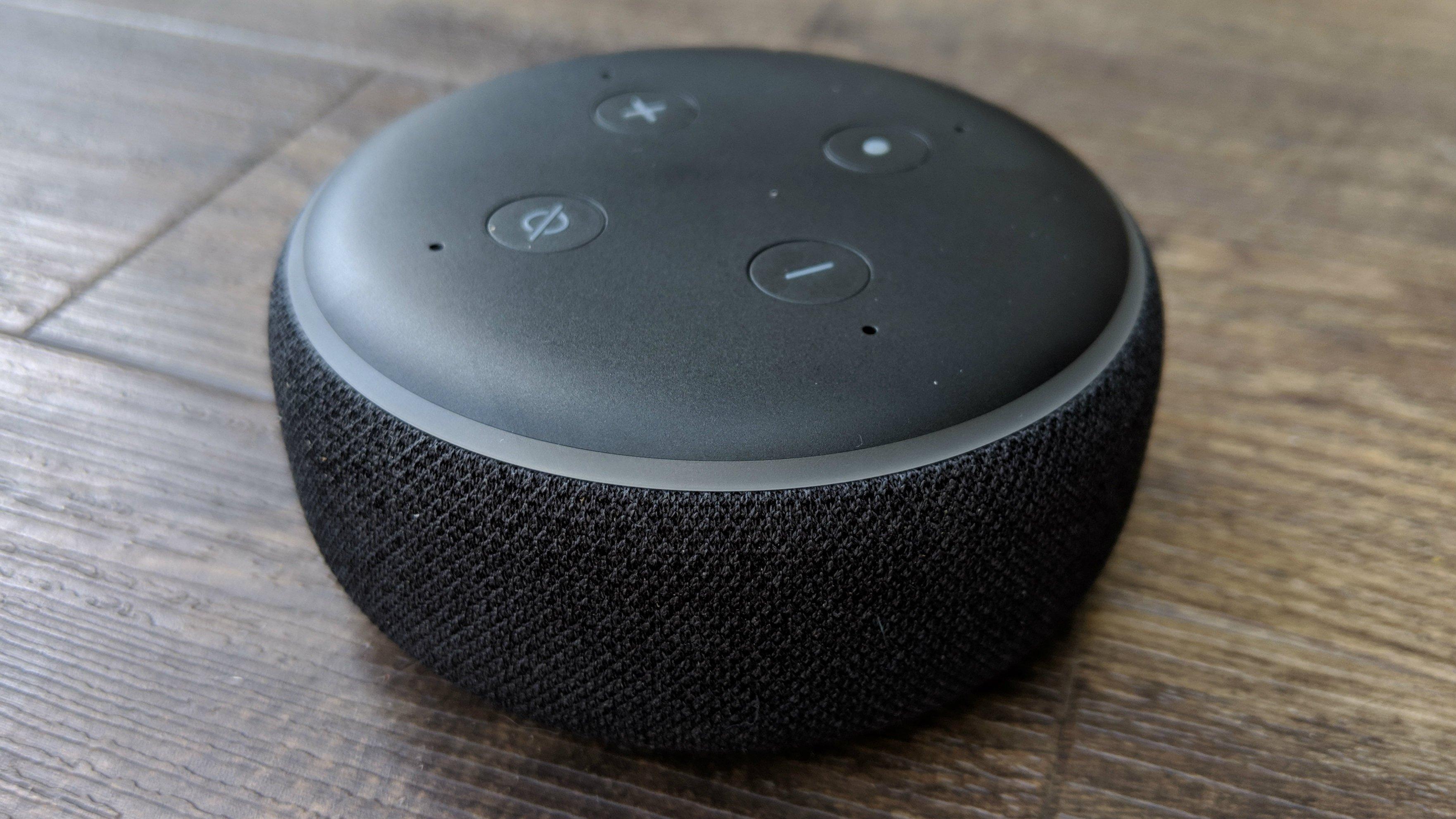 amazon echo dot speaker crackling