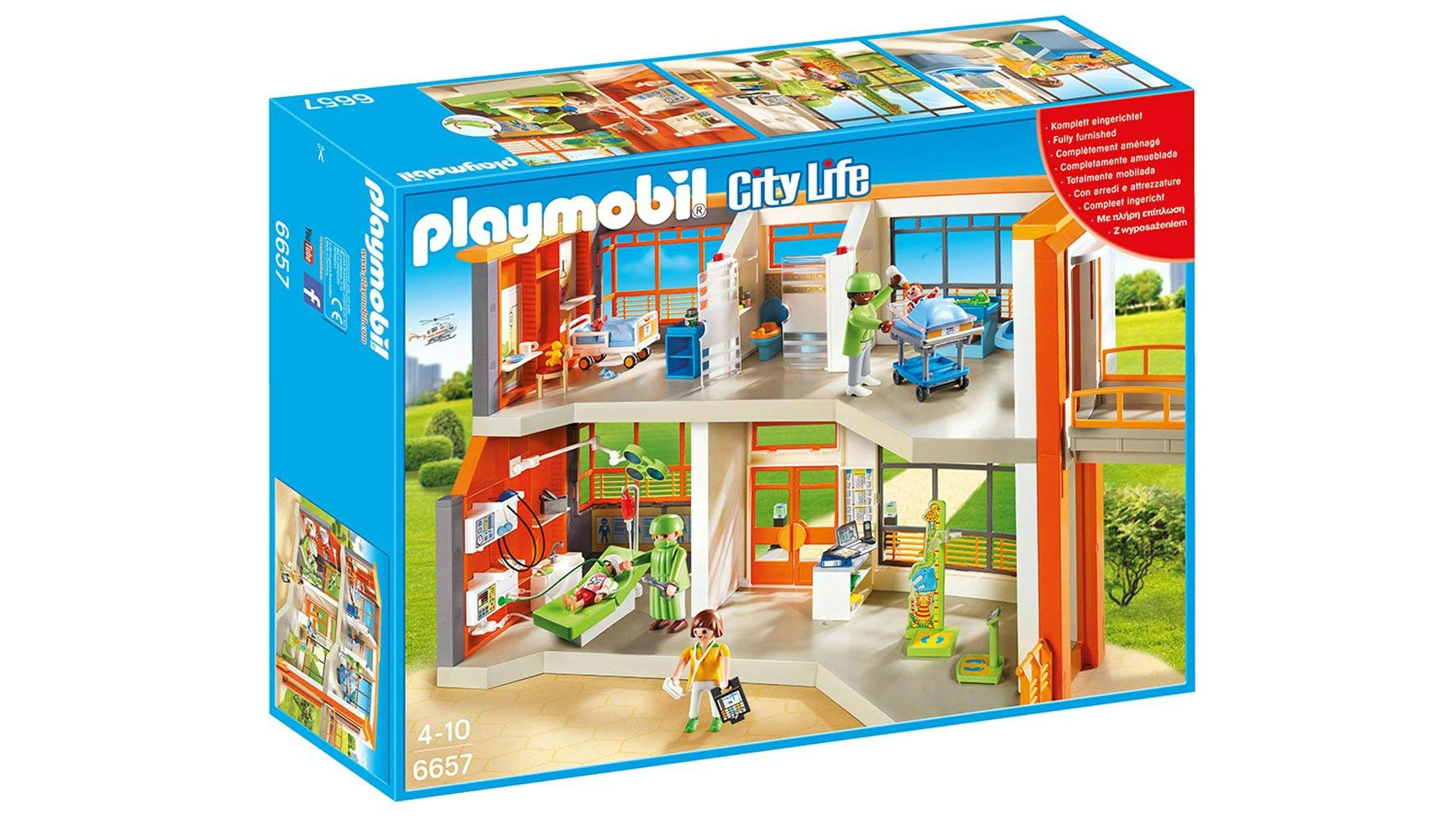Playmobil Is Great For Kids Aged Around Four And Over This Childrens Hospital Set Stands Out Its Sheer Play Value Not Only It Fun To Build