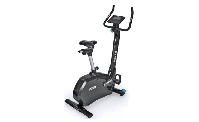 fbde8153c45 Reebok s Jet 300 exercise bike uses a so-called self-generating power  system with rechargeable batteries to make it super efficient.