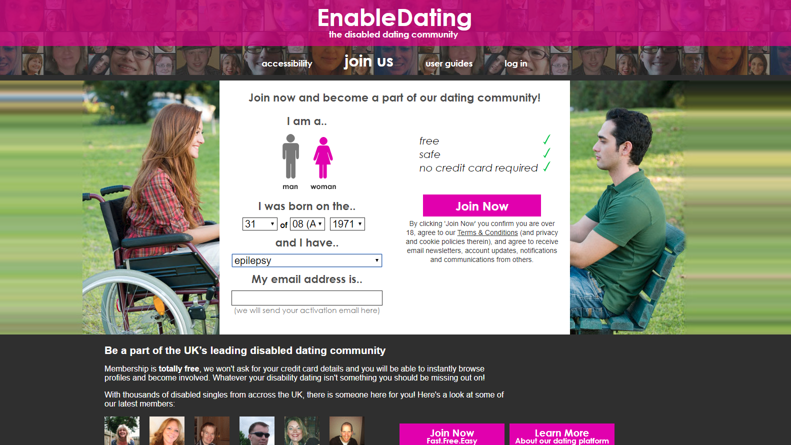 Fake male profiles on hookup sites