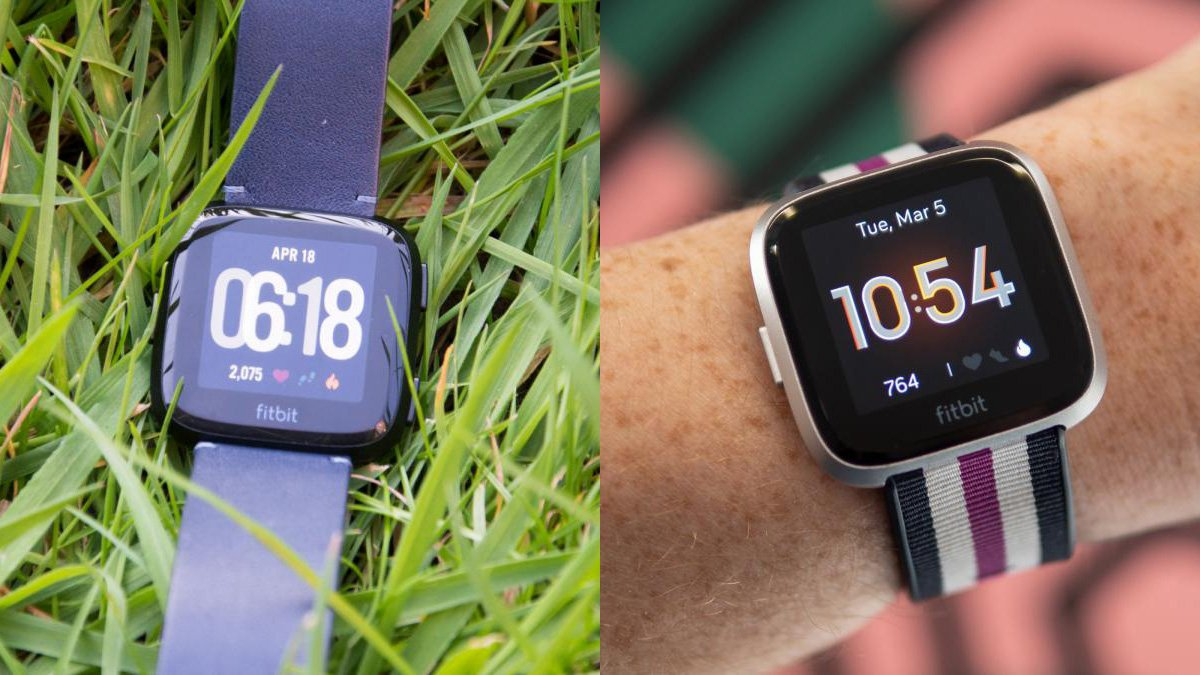 Fitbit Versa Vs Fitbit Versa Lite Which Smartwatch Is Best Expert Reviews