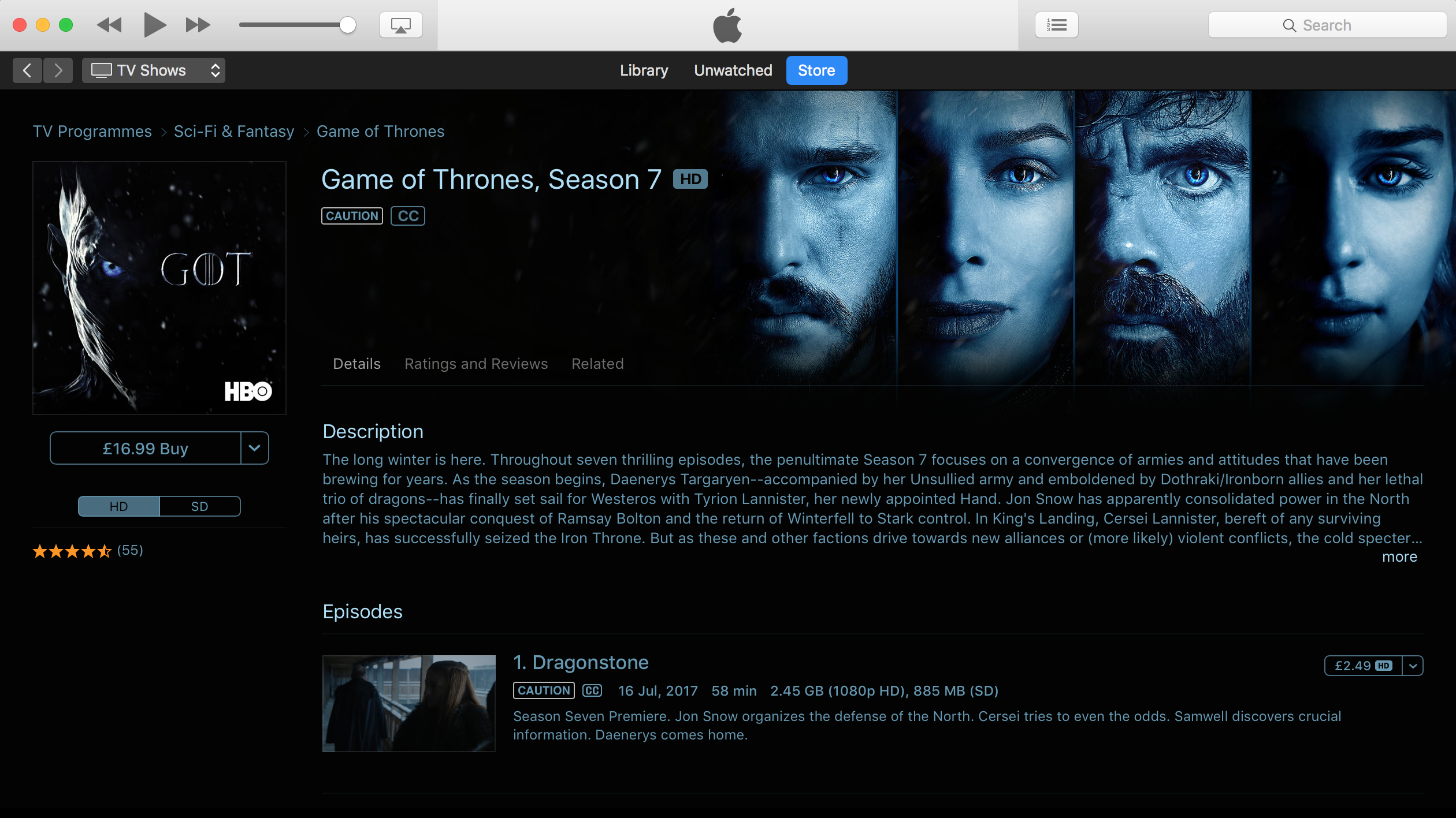 How to watch Game of Thrones: Watch every single episode of