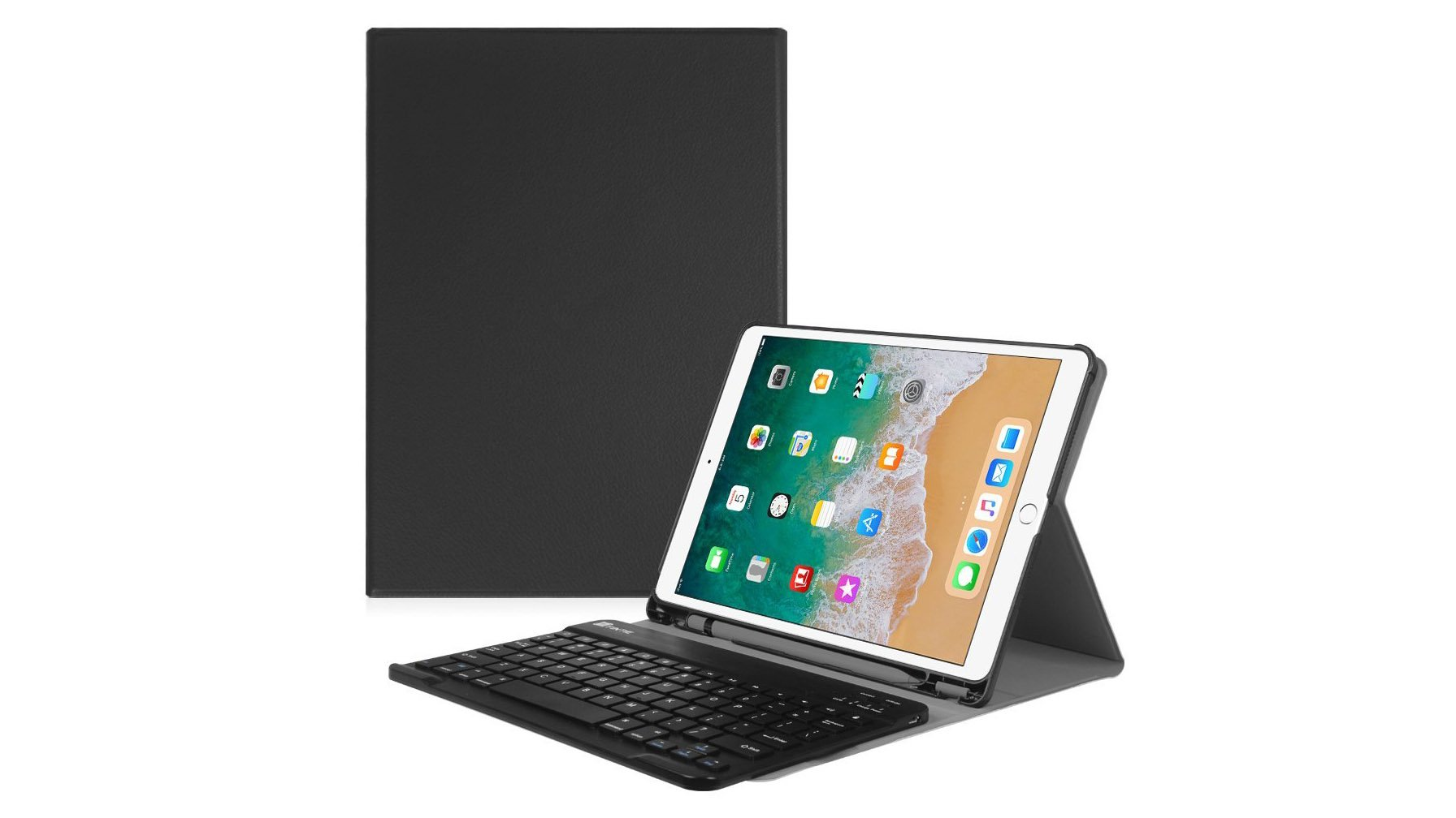 53f0100361 Let me make this clear from the start: this isn't a keyboard case. Rather,  for £26 you'll be getting an imitation-leather case for your iPad Air 3  alongside ...