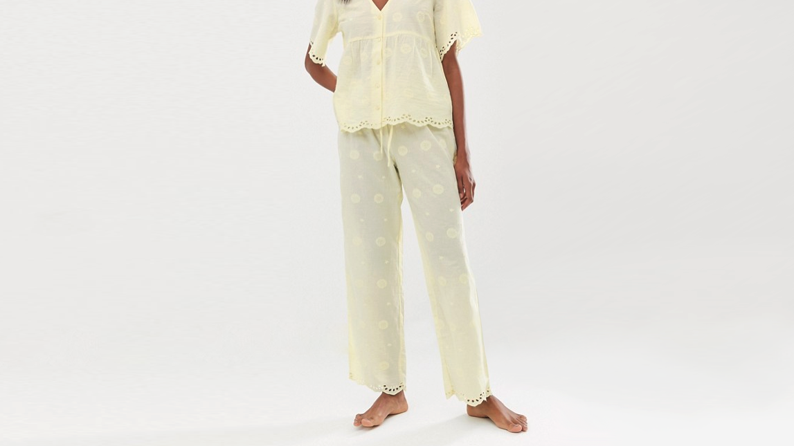 e8efa7f4be8f This beautifully cut broderie anglaise pyjama set is one of our favourite  items in Asos s summer range. They re designed to let your skin breathe