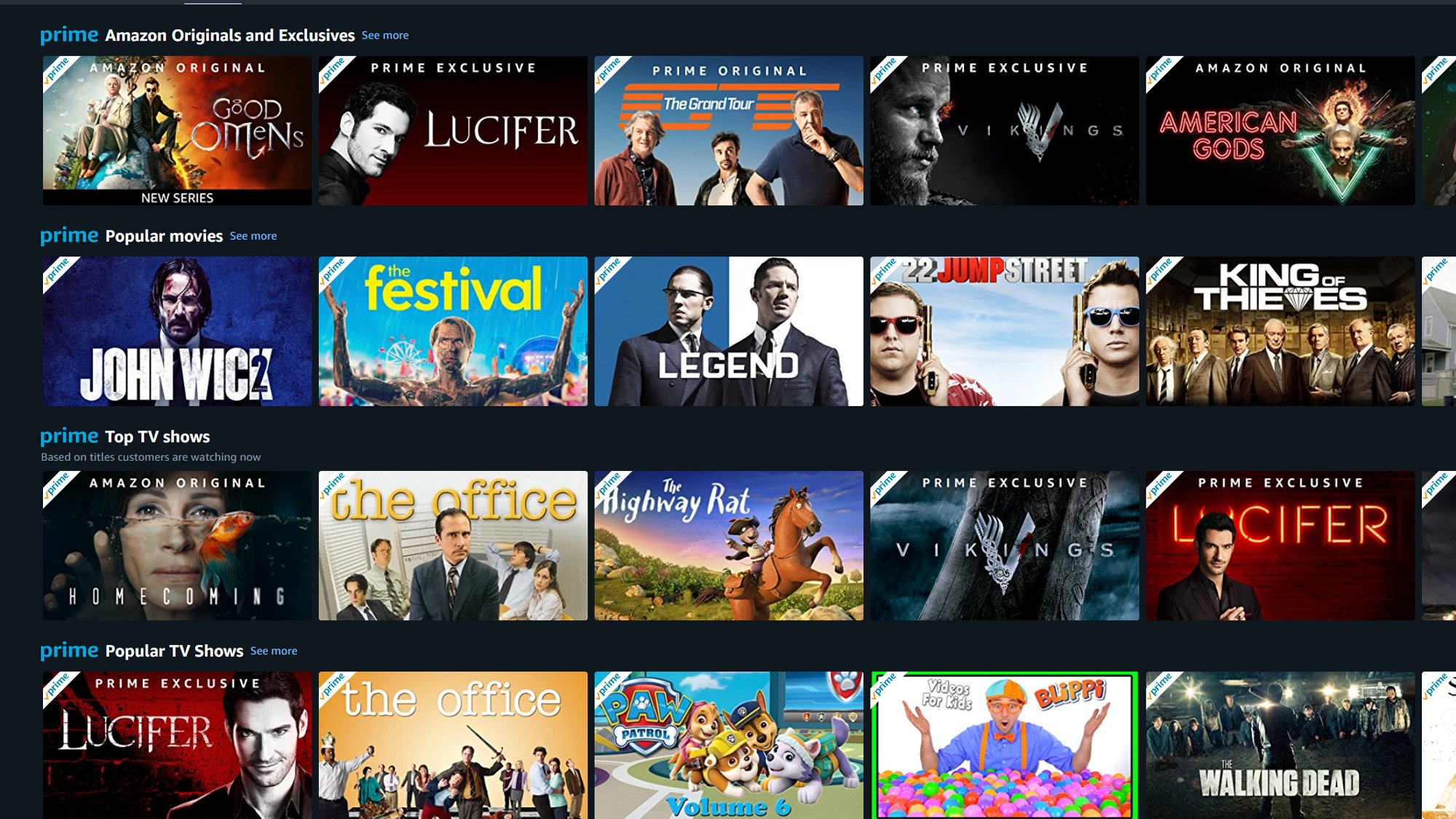What film should i watch on amazon prime