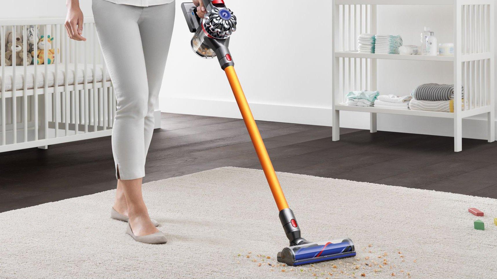 Dyson cordless vacuum cleaners sale v6 fluffy dyson отзывы