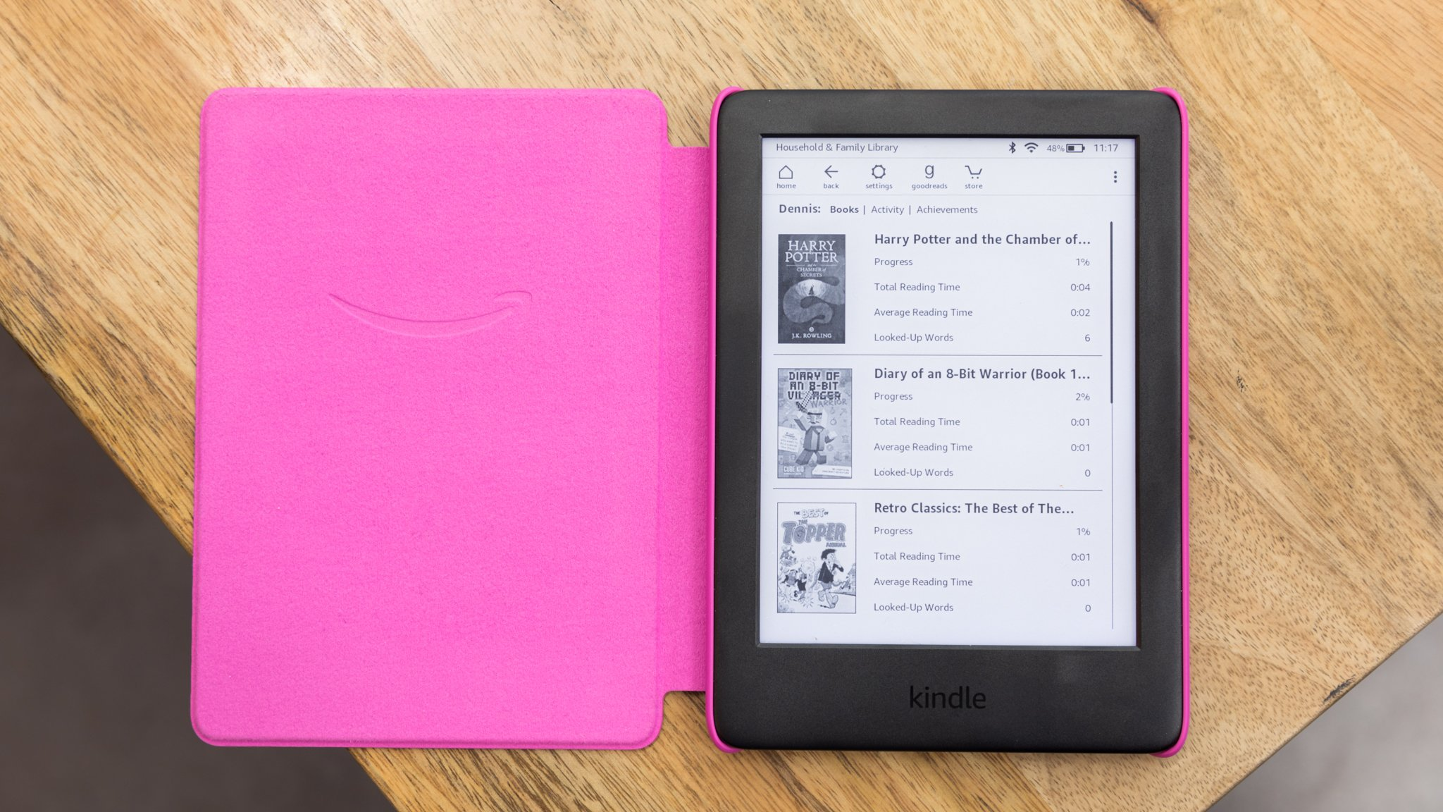 Amazon Kindle Kids Edition review: A regular Kindle with some