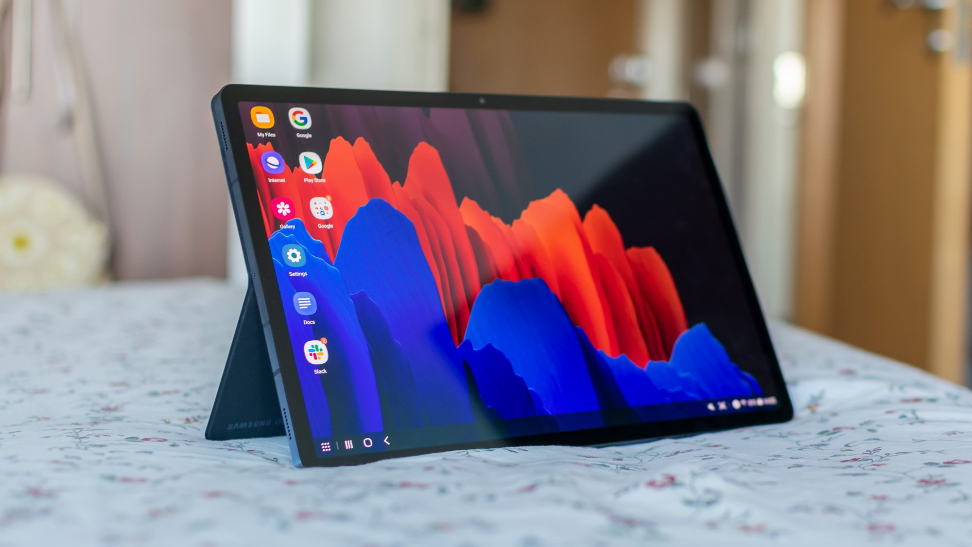 Samsung Galaxy Tab S7 Plus review: Beating the iPad to 5G | Expert Reviews
