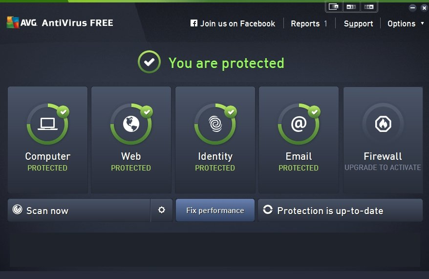 avg free pc scan and repair