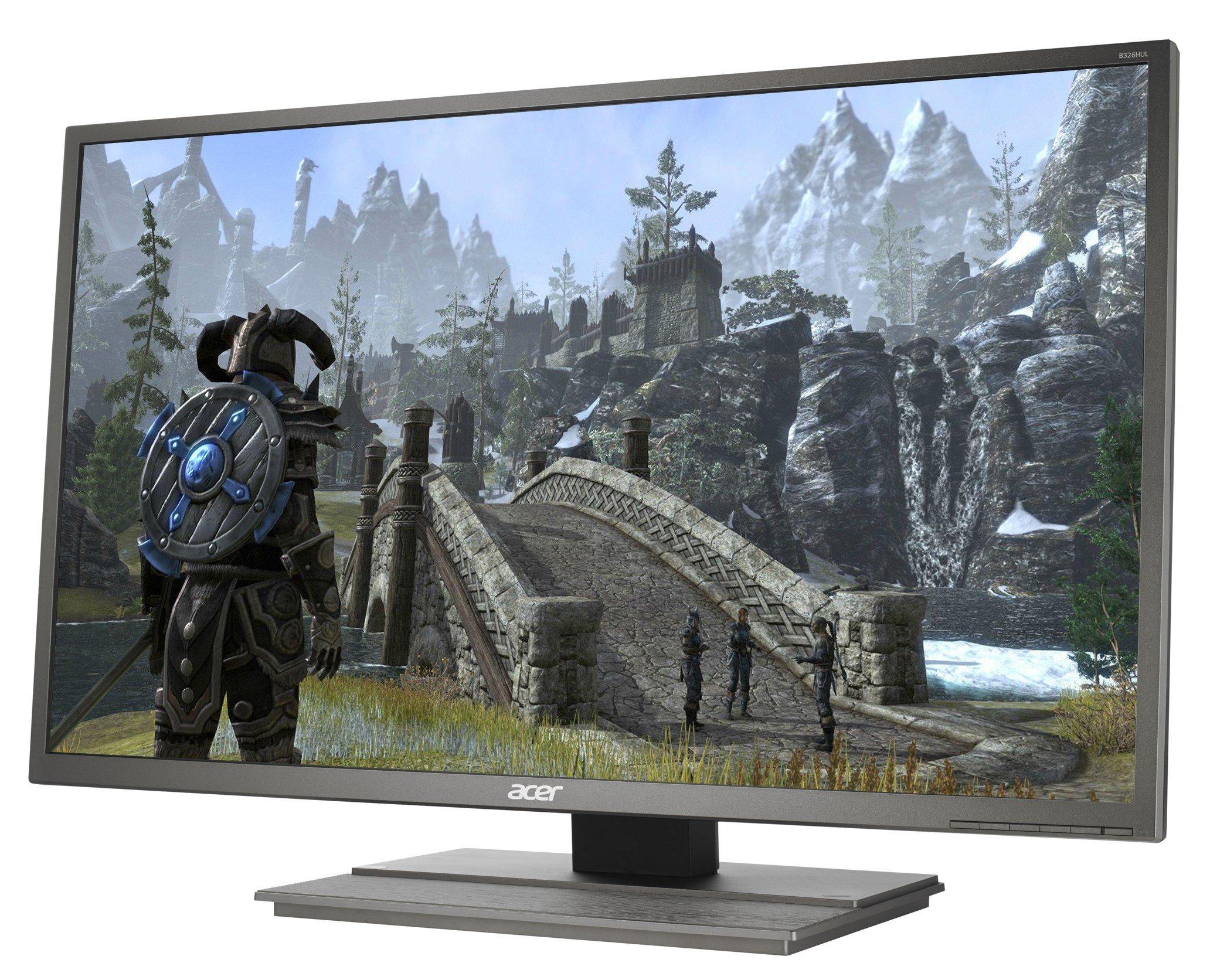 Acer B326HUL Monitor Display Windows