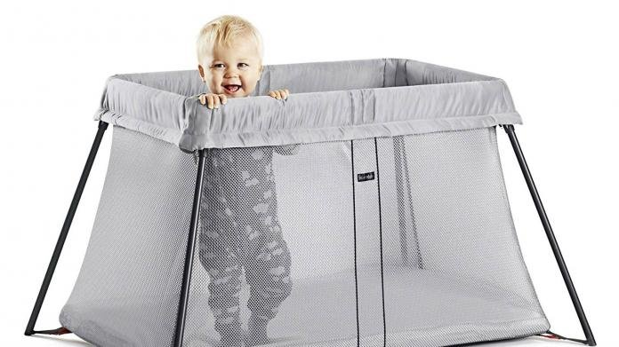 RED KITE INFANT SLEEP TIGHT JET BLACK BABY PORTABLE TRAVEL COT /& PLAYPEN NEW