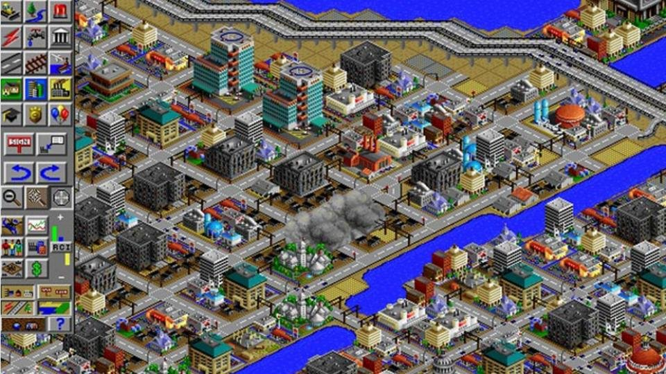 Simcity classic | old dos games | download for free or play on.