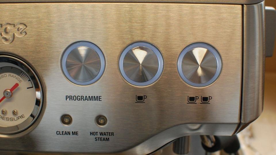 Salbei von Heston Blumenthal die Barista Express Kaffeeknöpfe