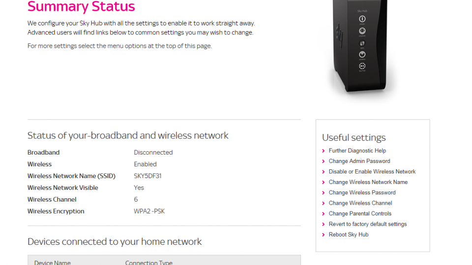 Sky Router Settings >> Sky Hub Review Expert Reviews