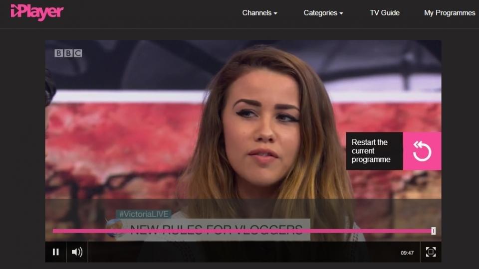 www bbc iplayer live