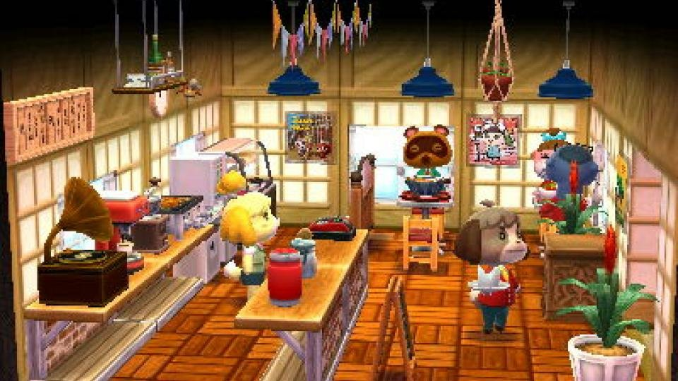 Animal Crossing Happy Home Designer Review Expert Reviews Inspiration Happy Home Furniture