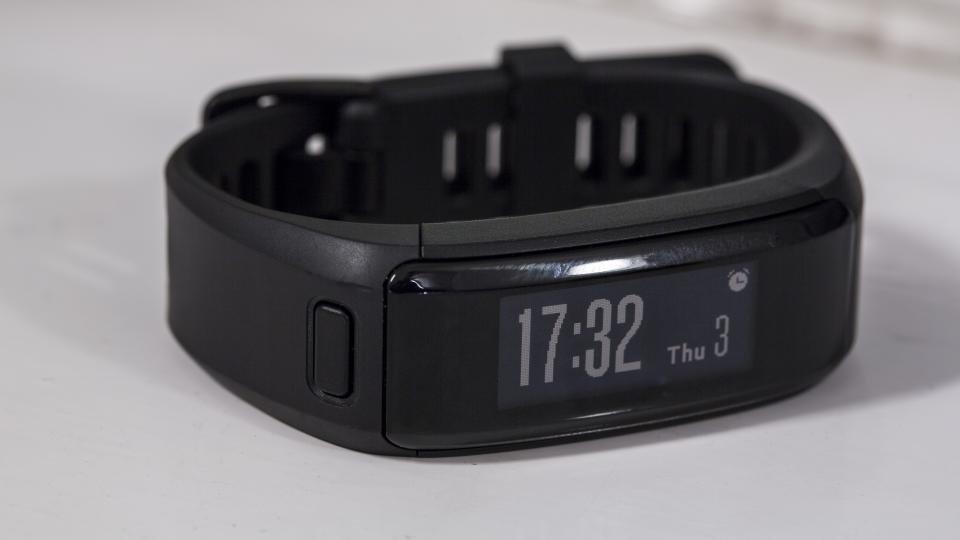 Garmin VivoSmart HR Activity Tracker Regular Fit Watch-Black-Excellent