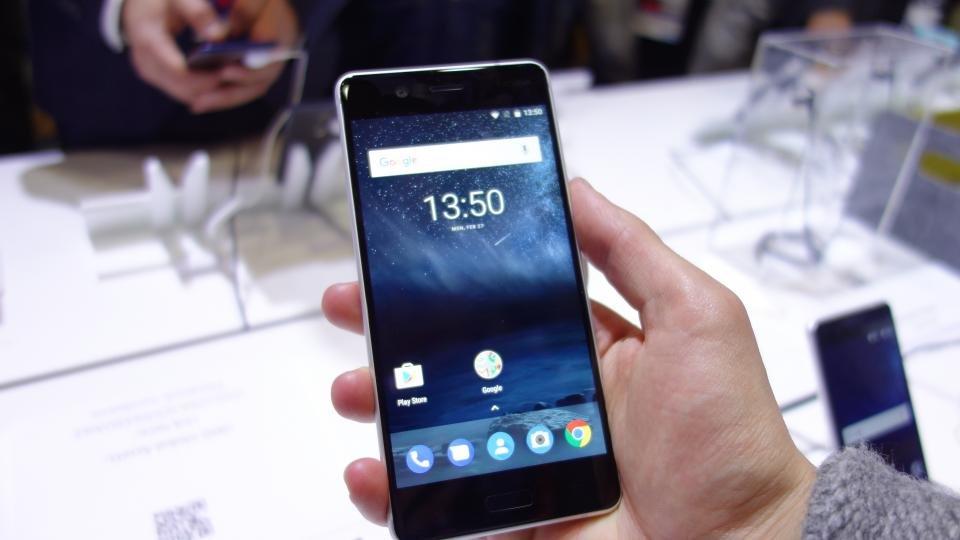 شاشة هاتف Nokia 5