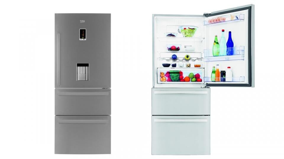 Ordinaire ... This Turkish Based Company Produces A Range Of Budget Priced Products  That Represent Great Value For Money. This Unique 74cm Wide Three Door  Fridge ...