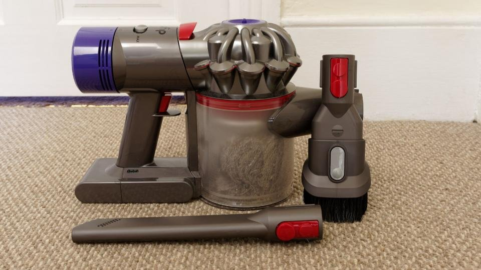 dyson v8 animal review a cheaper alternative to the. Black Bedroom Furniture Sets. Home Design Ideas