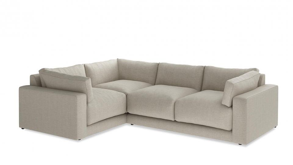 Bon Corner Sofas First Took Off In The 1970s When Open Plan Living Became  Popular. Now Theyu0027re Back In Vogue, With This British Made Option From Loaf  A Fabulous ...