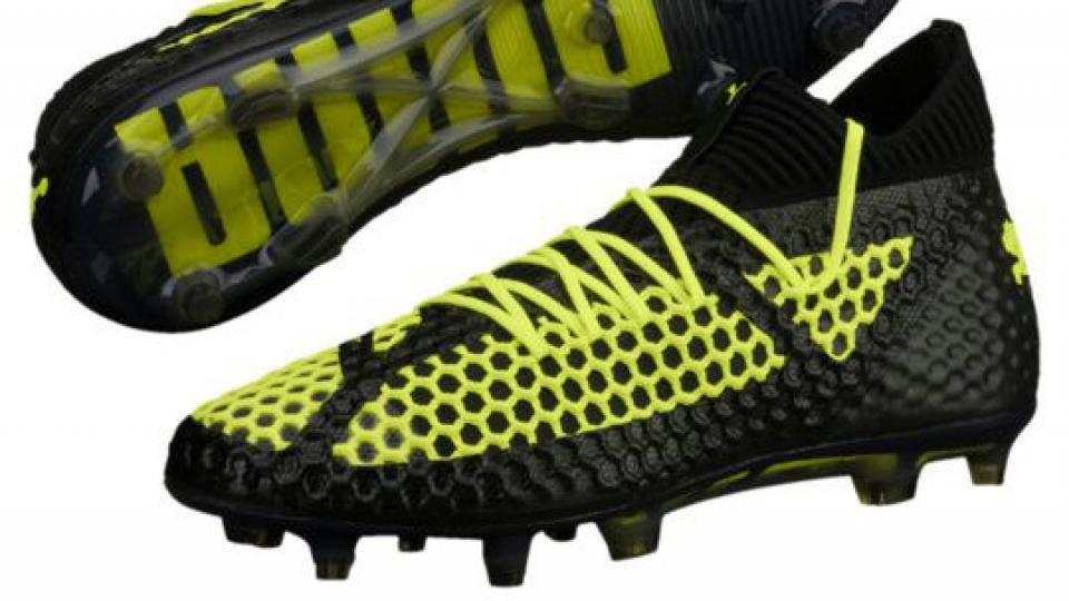 Puma s clever NetFit concept goes all out to accommodate every foot type   the netting that covers most of the upper lets you lace the boot up in  pretty much ... 08e738160b