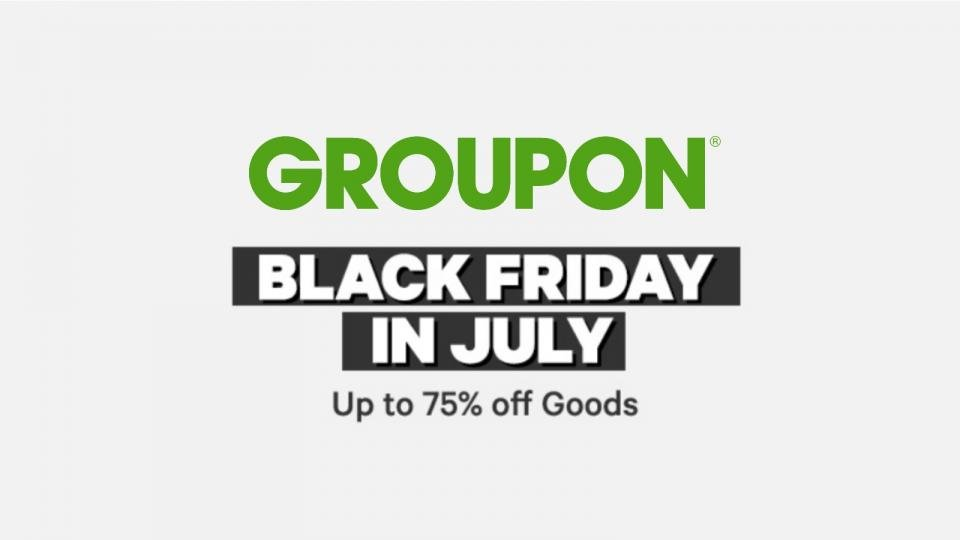 huge selection of 8918b 81127 Black Friday in July: Groupon offers big discounts on ...