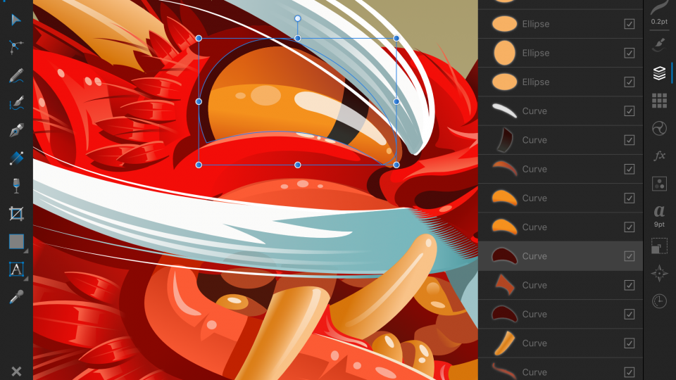 Affinity Designer for iPad review: Nearly all the power of