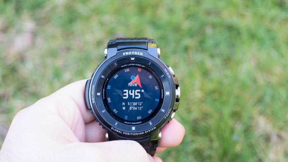 Casio Pro Trek WSD-F30 review: Rugged credentials, fiddly