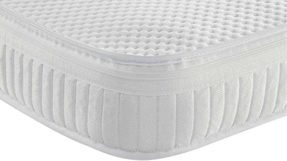 120 x 60 x 13 cm Lightweight Waterproof Eco Super Soft Quilt Easy Care Microfiber Baby Toddler Cot Bed Mattress Breathable Extra Thick Fits Mothercare and Mamas /& Papas Sizes