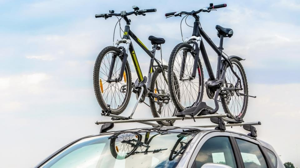 Bike Rack Carrier Car Trunk Rear Mount Bicycle Holder Towbar SUV Van Heavy Duty