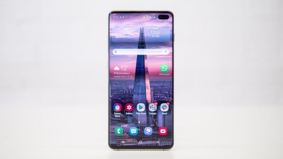59a97cb92f516d Samsung's newest fleet of flagship phones have arrived with thunderous  applause, and arguably the best of the bunch is the beefed-up Galaxy S10  Plus.