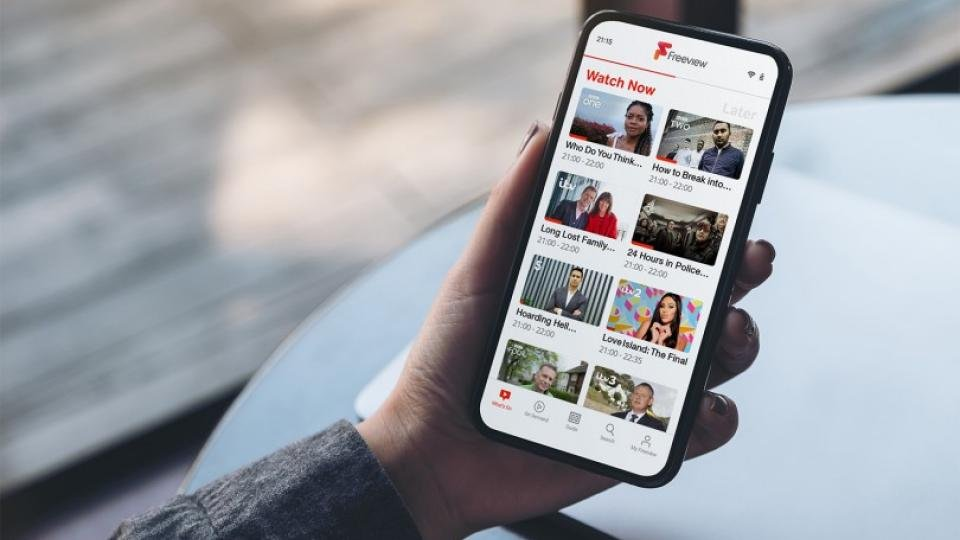 Freeview TV app comes to Android offering hundreds of live and