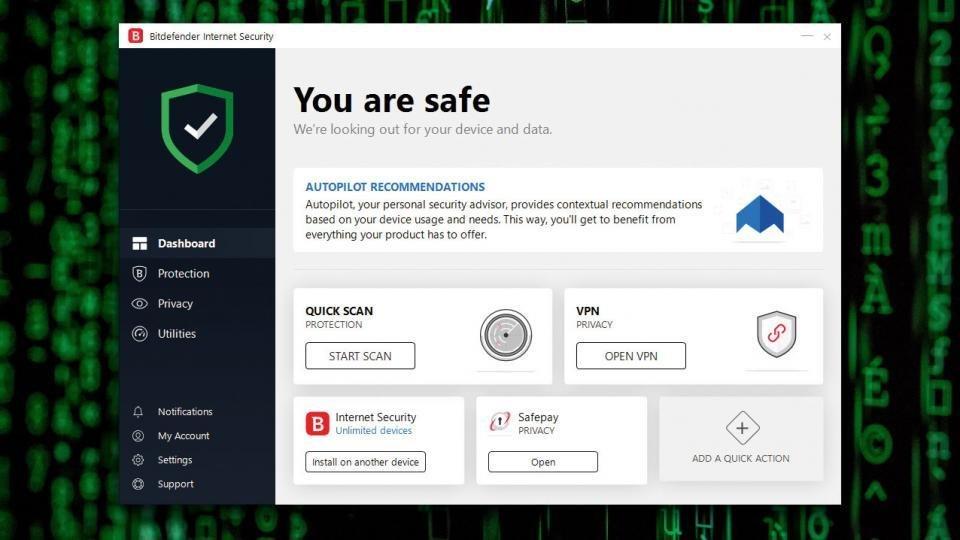 Unique Global Activation Code Bitdefender Antivirus Plus 3 PC 2019 1 Year