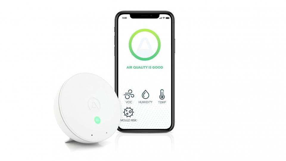 best air quality airthings wave mini