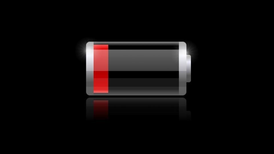 Phone Battery Bar header