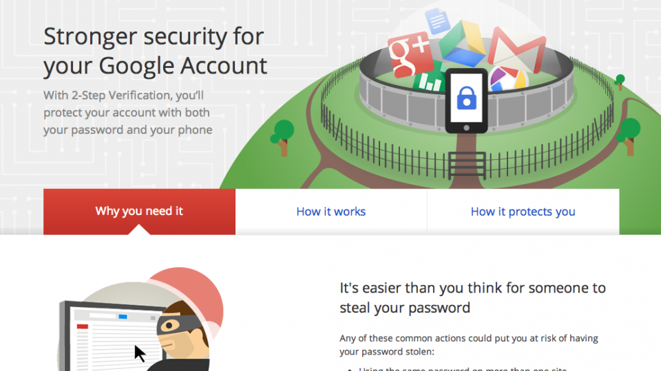 How to use Google 2-Step verification and Authenticator to