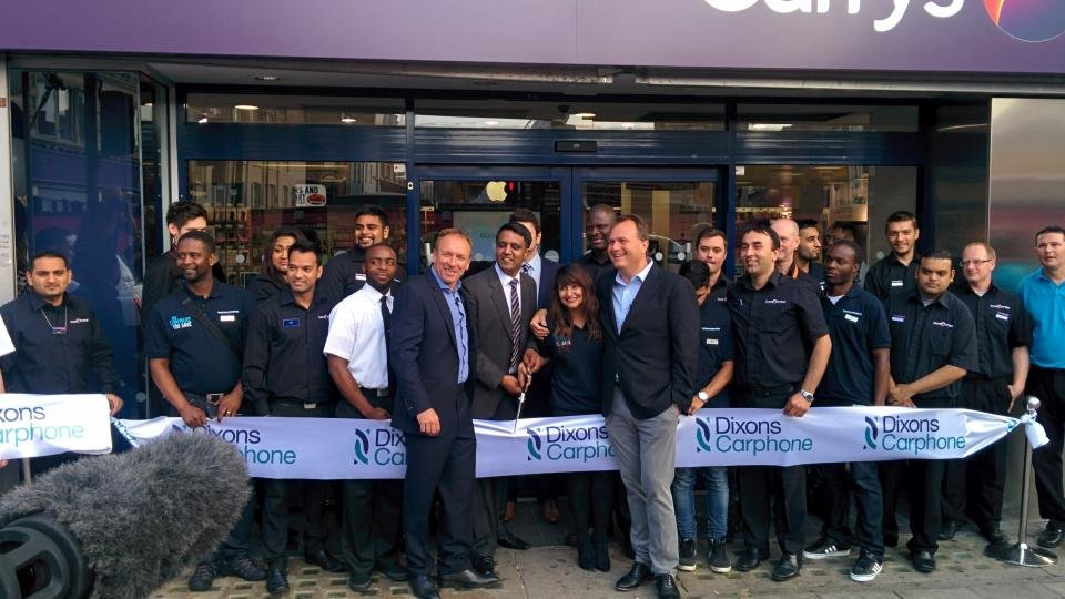 Dixons Carphone Currys PC World Warehouse opens after £3 8