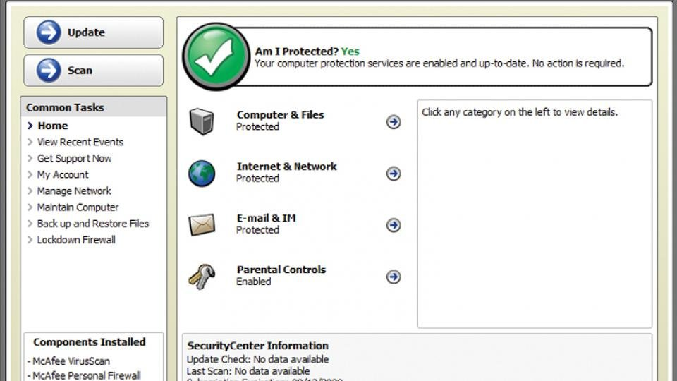 McAfee Internet Security 2009 review   Expert Reviews