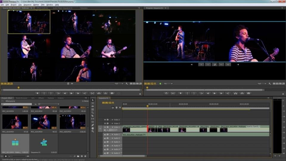 Adobe Premiere Pro CC First Looks - Review - PCMag Australia