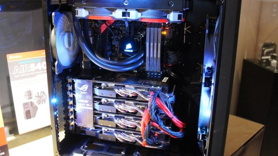huge selection of b35c4 28988 Corsair Carbide Air 540 case rethinks the PC layout | Expert Reviews