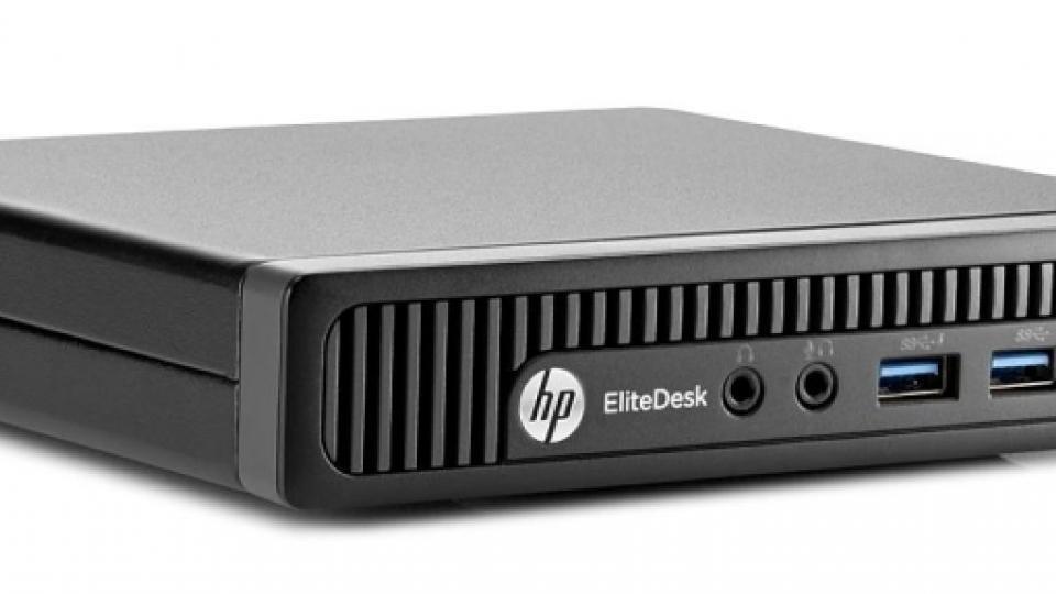 HP EliteDesk G1 800 Desktop Mini PC review | Expert Reviews