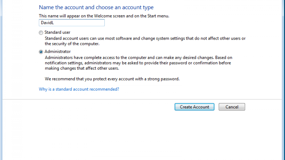 fix corrupt profile windows 7